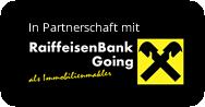 In Partnerschaft mit RaiffeisenBank Going als Immobilienmakler